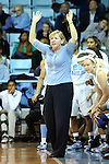 28 November 2012: UNC head coach Sylvia Hatchell. The University of North Carolina Tar Heels played the Ohio State University Buckeyes at Carmichael Arena in Chapel Hill, North Carolina in an NCAA Division I Women's Basketball game. UNC won the game 57-54.