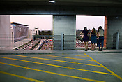 Parking Deck Seats, Raleigh, July 23, 2010