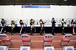COLUMBUS, OH - MARCH 11:  The final eight athletes start the individual final of the Division I Rifle Championships held at The French Field House on the Ohio State University campus on March 11, 2017 in Columbus, Ohio. (Photo by Jay LaPrete/NCAA Photos via Getty Images)