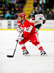 9 January 2011: Boston University Terrier forward Chris Connolly, a Junior from Duluth, MN, in action against the University of Vermont Catamounts at Gutterson Fieldhouse in Burlington, Vermont. The Terriers defeated the Catamounts 4-2 in Hockey East play. Mandatory Credit: Ed Wolfstein Photo