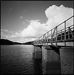 Resevoir, Kennick, Devon | Black and White Photography