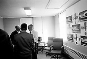 Rock Hill, South Carolina.USA.January 29, 2004..General Wesley Clark moments before his speach to UNITE Union Hall.