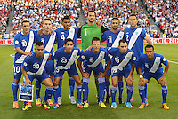 Guatemala starting XI.USMNT defeated Guatemala 3-1 in World Cup qualifying play at LIVESTRONG Sporting Park, Kansas City, KS.