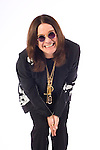 """Portrait session with Ozzy Osbourne. The shoot was done to promote Osbourne's new CD, """"Black Rain,"""" which was released 5/22/07."""