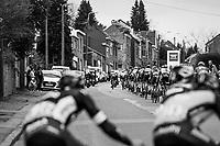 stretched peloton after La Redoute<br /> <br /> 103rd Li&egrave;ge-Bastogne-Li&egrave;ge 2017 (1.UWT)<br /> One Day Race: Li&egrave;ge &rsaquo; Ans (258km)