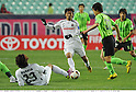 Masaki Chugo (Cerezo), Park Won-Jae (Jeonbuk), APRIL 20th, 2011 - Football : AFC Champions League Group G match between Jeonbuk Hyundai Motors 1-0 Cerezo Osaka at Jeonju World Cup Stadium in Jeonju, South Korea. (Photo by Takamoto Tokuhara/AFLO).