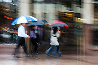 Rainy & Stormy, gray, melancholy days in Austin, Texas - Stock Photo, Image, Gallery