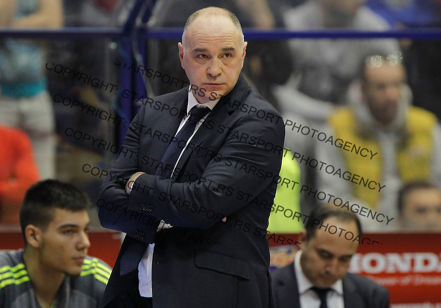 Kosarka Euroleague season 2015-2016<br /> Euroleague <br /> Crvena Zvezda v Real Madrid<br /> head coach Pablo Laso<br /> Beograd, 27.11.2015.<br /> foto: Srdjan Stevanovic/Starsportphoto &copy;