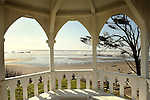 Kalaloch beach. View from gazebo.