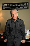 Comedian and political commentator Bill Maher, the star and host of &quot; Real Time with Bill Maher&quot; on HBO. Photographed in his office in Hollywood..