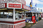 Cold drinks concession at Cheshire Fair in Swanzey, New Hampshire USA