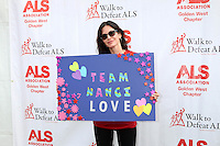 LOS ANGELES, CA - OCTOBER 16: Courteney Cox at the ALS Association Golden West Chapter Los Angeles County Walk To Defeat ALS at Exposition Park in Los Angeles, CA on October 16, 2016. Credit: David Edwards/MediaPunch