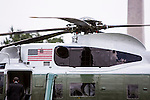 President Barack Obama departs the White House for Chicago on Saturday, August 11, 2012 in Washington, DC.