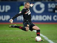 FUSSBALL   1. BUNDESLIGA  SAISON 2012/2013   16. Spieltag FC Augsburg - FC Bayern Muenchen         08.12.2012 Torwart Mohamed Amsif (FC Augsburg)