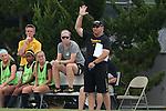 15 August 2014: Missouri head coach Bryan Blitz. The University of North Carolina Tar Heels hosted the University of Missouri Tigers at Fetzer Field in Chapel Hill, NC in a 2014 NCAA Division I Women's Soccer preseason match. Missouri won the exhibition 2-1.