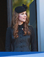 Kate, Duchess of Cambridge & Royals attend Remembrance Sunday Service - London