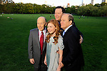 Bat Mitzvah Girl in Central Park in spring with family: sister, parents, grandparents.