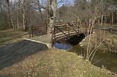 "Vienna, VA - February 20, 2001 -- ""ELLIS"" drop site under a footbridge over Wolftrap Creek near Creek Crossing Road at Foxstone Park near Vienna, Virginia..Credit: Consolidated News Photos"