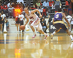 "Ole Miss guard Will Bogan (3) at the C.M. ""Tad"" Smith Coliseum in Oxford, Miss. on Thursday, December 29, 2010. (AP Photo/Oxford Eagle, Bruce Newman)"