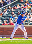 21 April 2013: New York Mets outfielder Lucas Duda in action against the Washington Nationals at Citi Field in Flushing, NY. The Mets shut out the visiting Nationals 2-0, taking the rubber match of their 3-game weekend series. Mandatory Credit: Ed Wolfstein Photo *** RAW (NEF) Image File Available ***