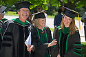 Kevin Rogers, M.D., left, Anya Koutras, M.D., right. Class of 2012 commencement.