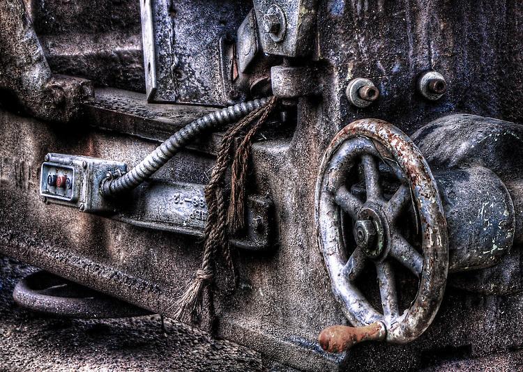 An old lathe