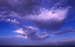 Clouds over the Atlantic, Tenerife, Canary Islands.