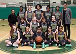 12-19-16, Huron High School girl's junior varsity basketball team