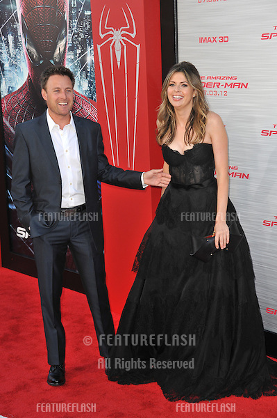 """Carly Steel & Chris Harrison at the world premiere of """"The Amazing Spider-Man"""" at Regency Village Theatre, Westwood..June 29, 2012  Los Angeles, CA.Picture: Paul Smith / Featureflash"""