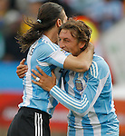 Fussball WM2010 Vorrunde: Argentinien - Nigeria