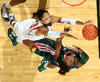 20110106 Miami Hurricanes NCAA womens basketball vs Virginia Cavaliers