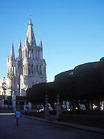 The Cathedral at San Miguel de Allende, Guanajuato, Mexico 09-05