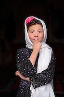Girl in Bamiyan, Afghanistan 2007