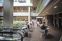 New York: Citicorp Center--Atrium Restaurant.