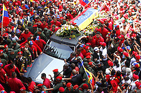 Hugo Chavez supporters mourn his death - Venezuela