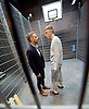 Thebes Land <br /> by Sergio Blanco <br /> at the Arcola Theatre, London, Great Britain <br /> press photocall <br /> 30th November 2016 <br /> directed by Daniel Goldman <br /> <br /> Trevor White <br /> <br /> and <br /> <br /> Alex Austin <br /> <br /> Photograph by Elliott Franks <br /> Image licensed to Elliott Franks Photography Services