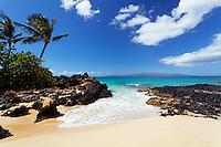 Paradise found at Secret Beach, Makena, Maui.