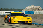 #70 Labre Competition Chevrolet Corvette C6R: Christophe Bourret, Pascal Gibson, Jean-Philippe Belloc