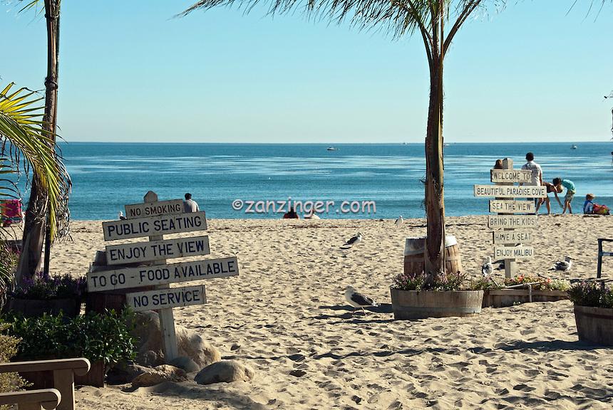 Malibu Private Beach Restaurant