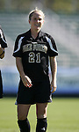 Wake's Amy Smerdzinski on Wednesday, November 2nd, 2005 at SAS Stadium in Cary, North Carolina. The University of Virginia Cavaliers defeated the Wake Forest Demon Deacons 2-1 during their Atlantic Coast Conference Tournament Quarterfinal game.