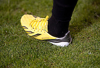 Chris Pontius, Adidas shoe.  D.C. United defeated Real Salt Lake, 1-0, at RFK Stadium.