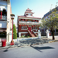 Chinese Public School - Victoria Chinatown National Historic Site, BC, Vancouver Island, British Columbia, Canada (Oldest Chinatown in Canada)