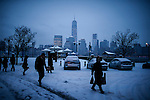 NYC Issue a snow alert as Last month was coldest February in 146 years