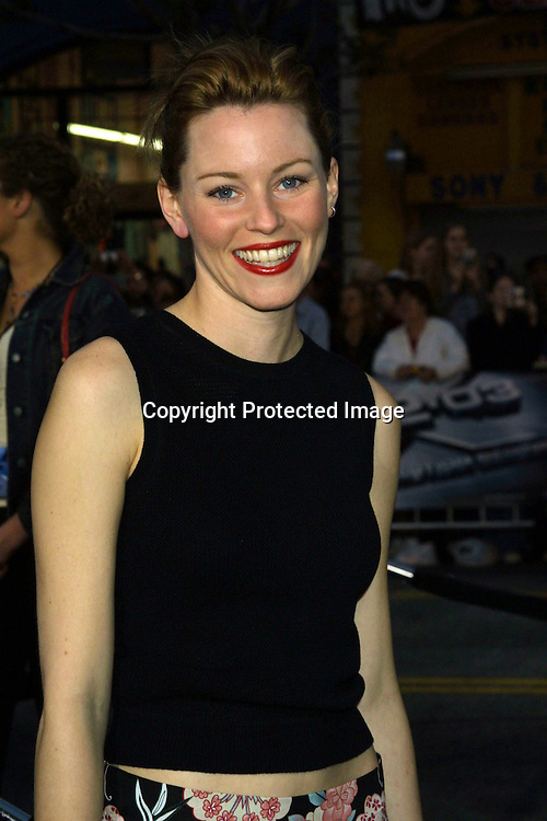 ©2003 KATHY HUTCHINS/HUTCHINS PHOTO.X2:  X-MEN UNITED PREMIERE.GRAUMAN'S CHINESE THEATER.HOLLYWOOD, CA.APRIL 28, 2003..ELIZABETH BANKS