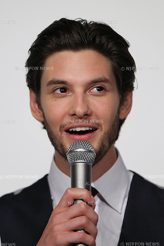 """Ben Barnes, ..Feb 13, 2011: ..""""The Chronicles of Narnia: The Voyage of the Dawn Treader"""" Japan premiere. ..at Tokyo, Japan. ..(Photo by AFLO) [1045]"""