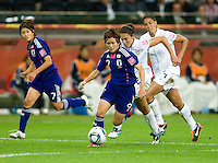 Nahomi Kawasumi.  Japan won the FIFA Women's World Cup on penalty kicks after tying the United States, 2-2, in extra time at FIFA Women's World Cup Stadium in Frankfurt Germany.
