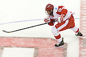 Ryan Santana (BU - 15) - The Boston University Terriers defeated the visiting Providence College Friars 4-2 (EN) on Saturday, December 13, 2012, at Agganis Arena in Boston, Massachusetts.