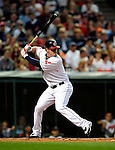 4 September 2009: Cleveland Indians' left fielder Matt LaPorta in action against the Minnesota Twins at Progressive Field in Cleveland, Ohio. The Indians defeated the Twins 5-2 to take the first game of their three-game weekend series. Mandatory Credit: Ed Wolfstein Photo