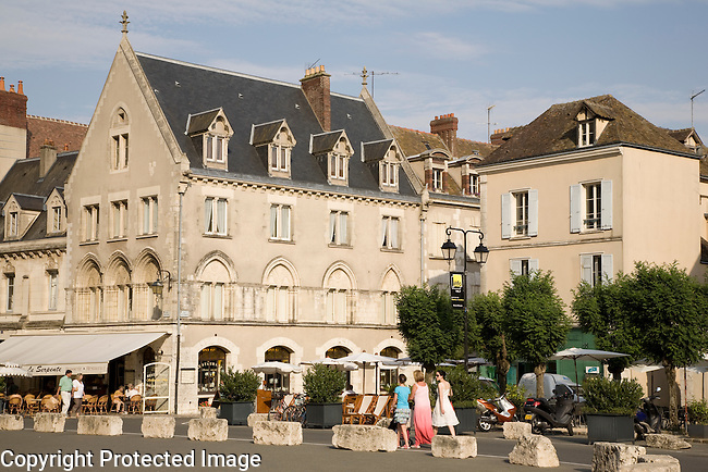 Chartres Town Centre, France