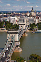 Sz&eacute;chenyi Chain Bridge, Budapest